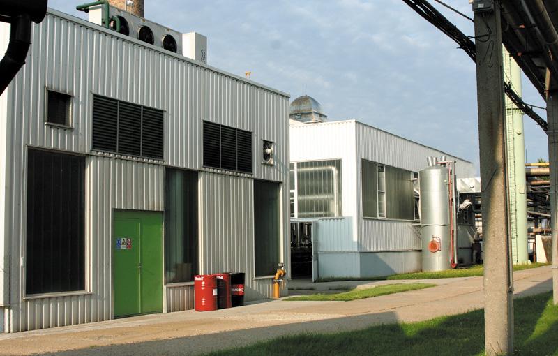 E.ON Rt. győri fűtóerőmű építés